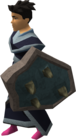 Rune berserker shield equipped old