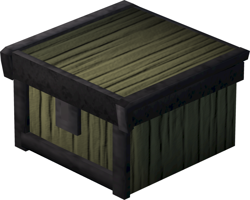 Small dwarven toolbox detail