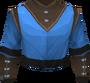 Wizard robe top (t) detail