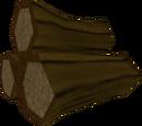 Yew logs