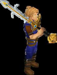 238px-Saradomin godsword equipped