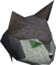 Cat mask detail