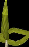Chompy bird hat (marksman) detail
