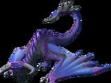 Dragão alado vivo