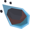 Large meteorite detail