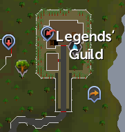 Legends' Guild map