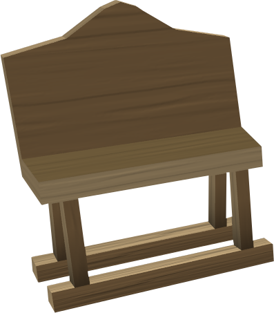 Elegant Oak Bench Built