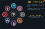 Runefest 2017 task list interface