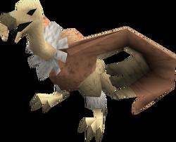 Vulture (pink ruff) pet