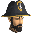 Western Captain's hat chathead