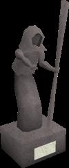 Zamorak'o statula 1