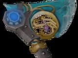 Augmented crystal hatchet