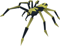 Blessed spider