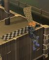 Burthrope agility ledge jump