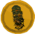 Christmas tree cape token detail