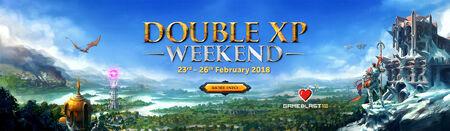 Double XP Weekend head banner 6