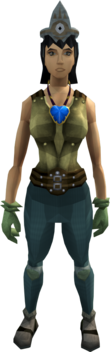 Easy task set equipped (female)