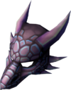 Mithril dragon mask detail