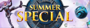 Summer Special 2018 lobby banner