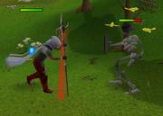 Zamorakian spear special attack