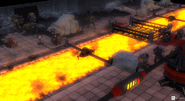 Attack on the Chaos Dwarf Lava Flow Mine
