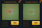Catapult controls