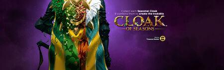 Cloak of Seasons head banner