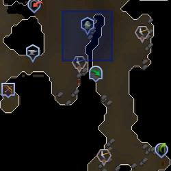 Familiarisation (Dwarven Mine) location