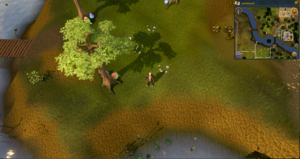 Map clue location Varrock west mine