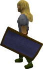 Mithril sq shield held old