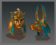 Mummy masks concept art