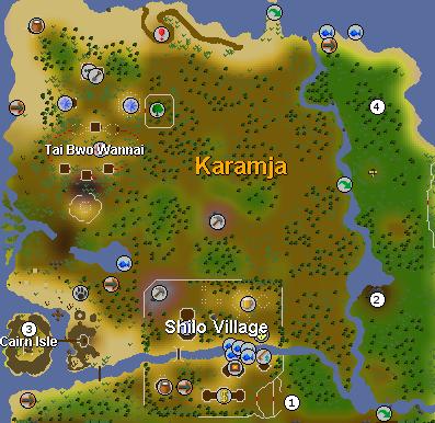 Shilo village tehtava