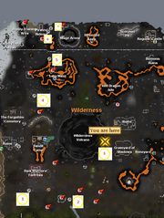 Shooting stars rgn map Wilderness