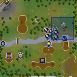 Duradel mapa