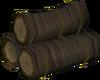 Elder pyre logs detail