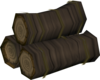 Elder pyre logs detail