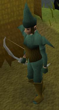 Elf warrior rangers