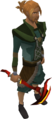 Gilded dragon pickaxe equipped.png