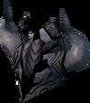 Malevolent helm (Third Age) detail