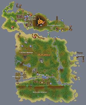 Mapa de karamja