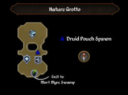 Nature Grotto map