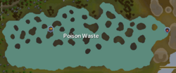 Poison Waste map