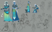RuneScape Idle Adventures character concept art