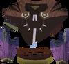 Samba top (purple, male) detail