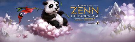 Zenn Panda Sage head banner
