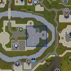Akrisae mapa