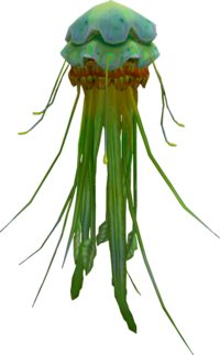 Green blubber jellyfish (NPC)