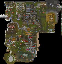 Misthalin mapa
