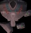 Pharaoh's ankh (blue) detail