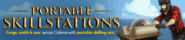 Portable skillstations lobby banner